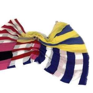 Kate Spade New York Multicolor Scarf 30 x 76 in.